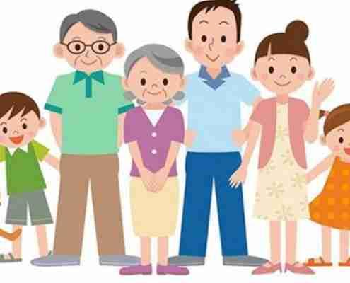 La famiglia e gli eredi
